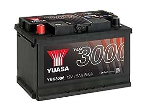 Cheap Yuasa Ybx3086 Smf Starter Battery Buy Car Batteries