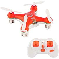 Mini quadricoptère drone hélicoptère miniature radiocommandé orange - Compare prices on radiocontrollers.eu