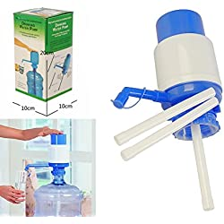 VelKro Hand Press Manual Water Can Bottle Water Dispenser Suits For Most Mineral Water Bottles