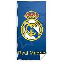 Real Madrid Toalla de Playa de Microfibra Escudo 70 x 140 cm