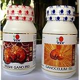 Dxn Reishi Gano And Ganocelium Capsules - Rg & Gl (90 + 90 Capsules)