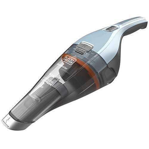 BLACK+DECKER NVC215W-QW Aspiratore Ricaricabile aspirabriciole 7,2V Litio - 10,8Wh, capacità contenitore 385ml