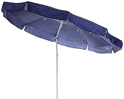 beo 120913 Sonnenschirm, Durchmesser 200 cm, dunkelblau von HVI bei Gartenmöbel von Du und Dein Garten