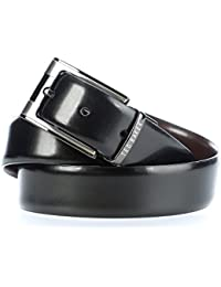 Ted Baker Crafti Reversible Belt Black/Chocolate