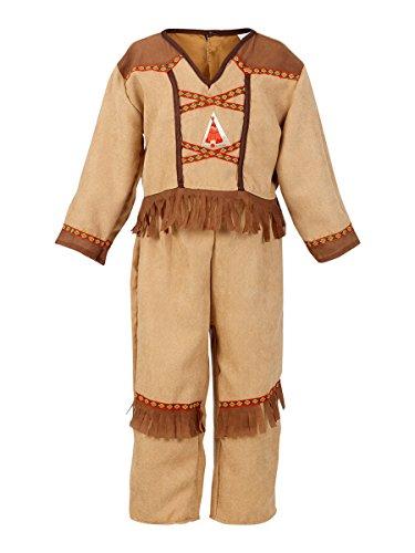 Rose & Romeo - 10058 - Costumi per bambini - Koby indiano Boy Set