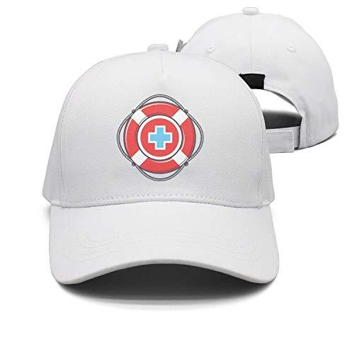 Hipiyoled Cap Life Guard and Lifeguard Logo Plain Hat 21971 -
