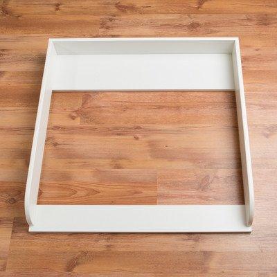 Extra Bords arrondis H! Plan à langer pour tous les commodes IKEA Hemnes