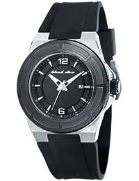 Black Dice BD 067 03 - Reloj analógico de cuarzo para hombre con correa de silicona, color negro