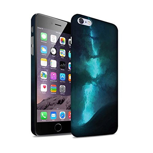 Offiziell Chris Cold Hülle / Matte Snap-On Case für Apple iPhone 6S+/Plus / Pack 12pcs Muster / Fremden Welt Kosmos Kollektion Elektro-Sturm