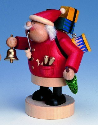 KWO Chubby Santa German Christmas Incense Smoker
