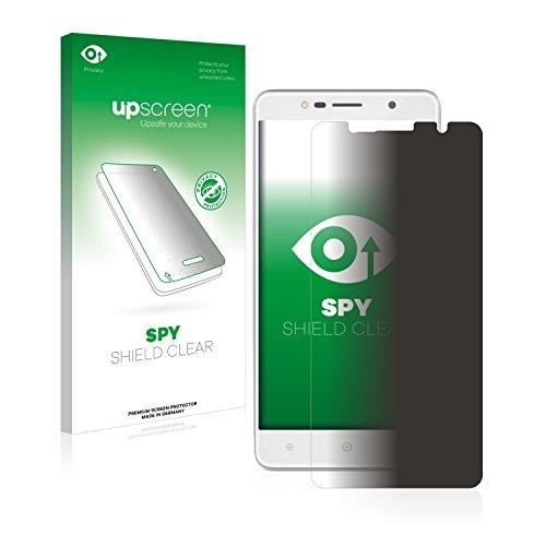 upscreen Anti-Spy Blickschutzfolie kompatibel mit Haier Leisure L7 Privacy Screen Sichtschutz Bildschirmschutz-Folie