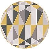 Cqq tapis Tapis géométriques de la mode moderne et simple nordique Salon avec tapis...