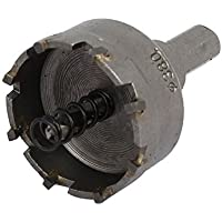 DealMux 38 mm de corte de 6 mm Diámetro de la torcedura de perforación bits TCT caña recta agujero consideró gris