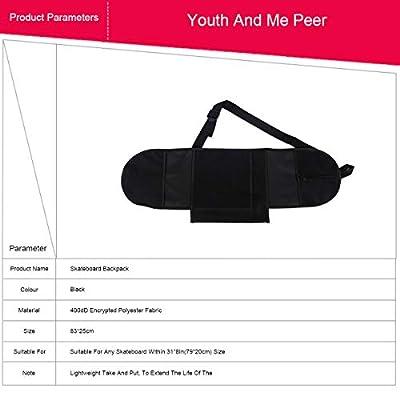 Grist CC Sport Skateboard-Tragetasche Tasche Deck Schalten Rucksack 83 * 25 cm / 32 * 10 Zoll