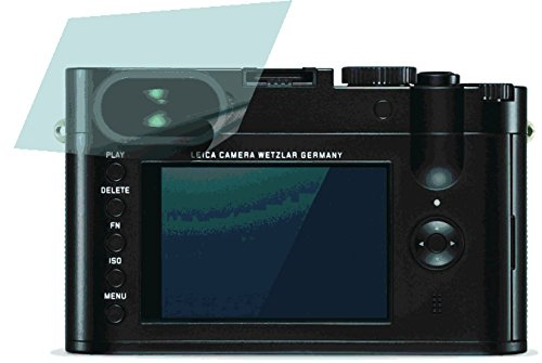 Leica Q Typ 116 (2 Stück) PREMIUM Displayschutzfolie Bildschirmschutzfolie kristallklar - KRATZFEST UND PASSGENAU