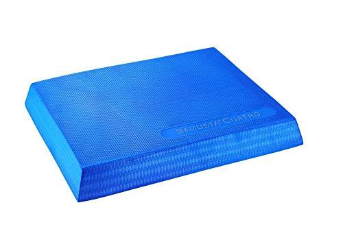 Trendy Sport Bamusta Cuatro Pad, Balance Pad, Gleichgewichtstraining, mit Waffelstruktur, rutschhemmend, 47 x 38 x 6 cm in hellblau