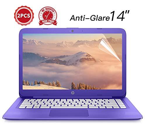 [2Pack] Universal 35,6cm Blendfreie Anti Scratch matt Finish Displayschutzfolie für HP Stream 14, HP Chromebook 14, Acer Chromebook 14CB3-431und mehr 35,6cm Laptop, 2-piceces/Pack -