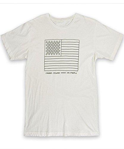 Channel Islands Surfbretter, almerricka Hex T-Shirt, weiß, Größe S (S/s Surfboard Shirt)