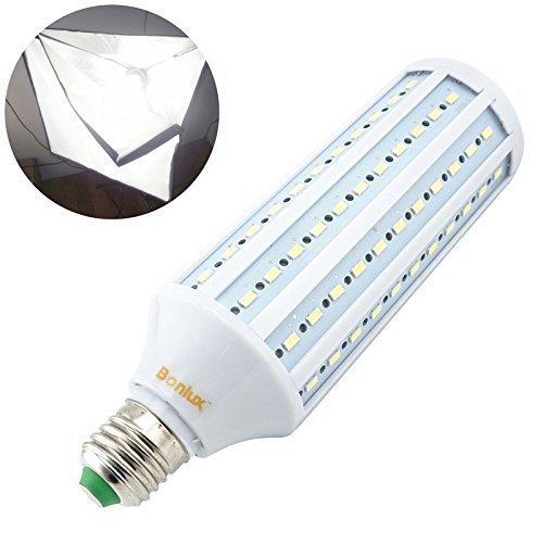 Foto-lampen (Bonlux 40W E27 LED Studio-Glühlampe 5500K für Fotografie Video-Foto-Beleuchtung Full Spectrum Schraube ES LED-Tageslichtlampe)