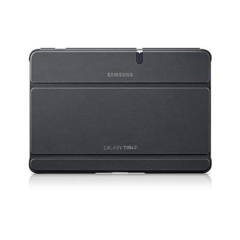 Samsung Original Diarytasche (Flipcover) im Buchdesign EFC-1H8SGECSTD (kompatibel mit Galaxy Tab 2 10.1) in