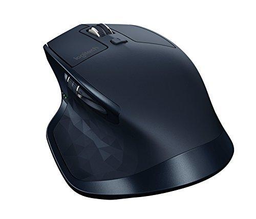 Logitech MX Master kabellose Maus (für Window und Mac) marineblau - Wiederaufladbare Bluetooth Laser Maus