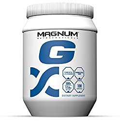 Magnum Nutraceuticals G 500g - Pharmaceutical Grade L-Glutamine by Magnum Nutraceuticals