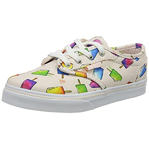 Vans Atwood Low, Mädchen Sneakers, Mehrfarbig (Floral/Multi), 33 EU