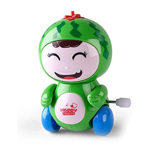 ALIKEEY Kinder Lernspielzeug, Clockwork lustiges Spielzeug-Karikatur-Frucht-Lächelndes Gesicht Clockwork Auto-Pädagogische Spielwaren FÜR Mädchen Jungen FÜR Mädchen Jungen