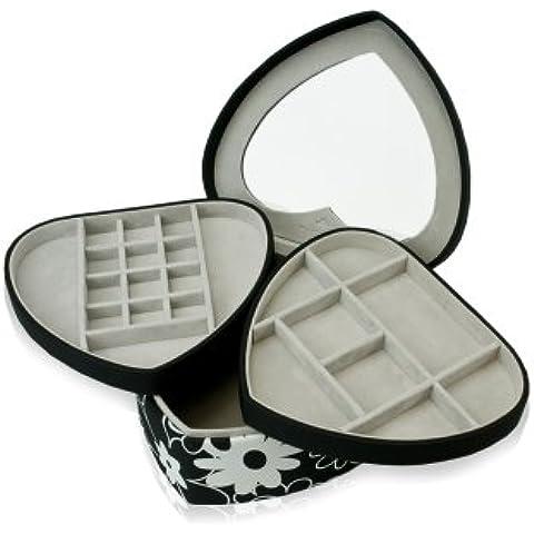 Windrose Charming Charmbox portagioie scatola per gioielli 19,5 cm - Scrigno Cuore