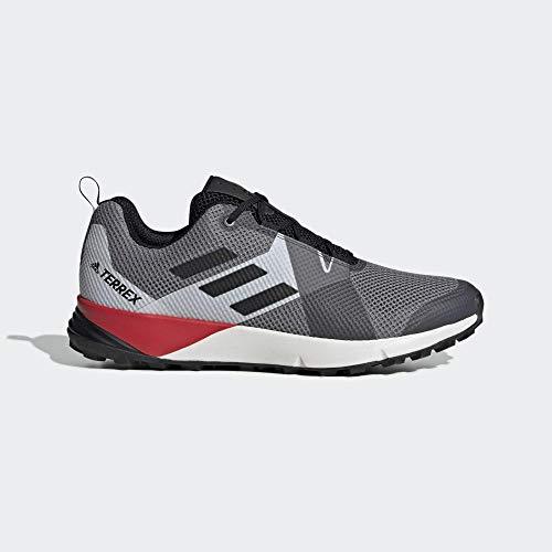 adidas Herren Terrex Two Fitnessschuhe, Mehrfarbig (Gritre/Negbás/Rojact 000), 42 EU -