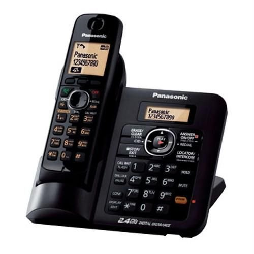 Panasonic KX-TG3821BXB 2.4 GHz DIGITAL Cordless Telephone image