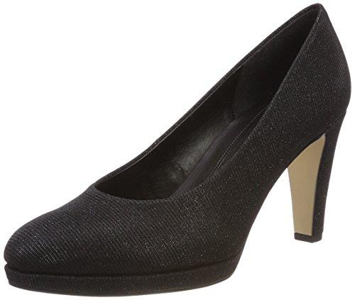 Femmes À Schwarz Noirs Talons Pour Natur Chaussures Gabor Fashion Yqn7FRTnP