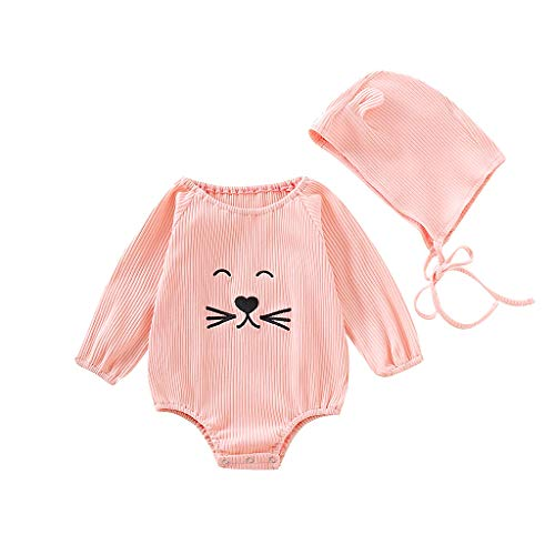 Süßes Paar Halloween Outfit Ideen - WFRAU Baby Strampler Mädchen Süß Rosa