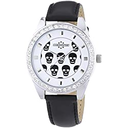 Chronostar Watches Women's Quartz Watch with White Dial Analogue Display and Gold Plastic R3751229505