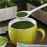 XIAPENG Succo di alcalino verde sostitutivo del pasto Succo verde in polvere Cereali Ricambio del pasto Polvere di pulizia Gastrointestinale Succo di base verde in polvere