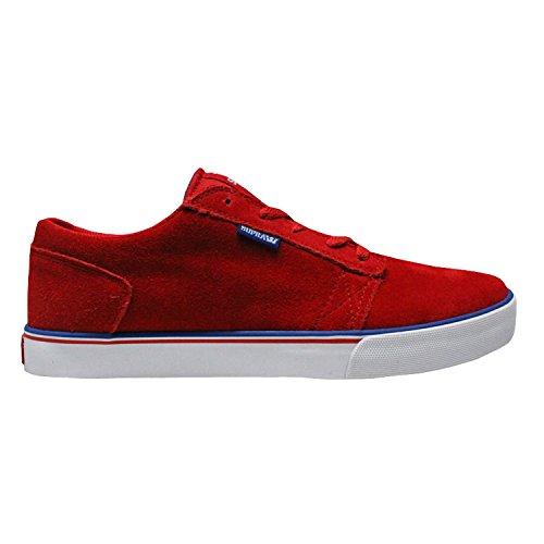 Herren Sneaker Supra Amigo Sneakers Red/Navy/White