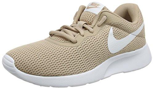 Nike Damen Tanjun Sneaker - Beige (Sand/White) , 41 EU