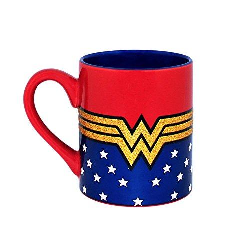 Wonder Woman Glitter Mug