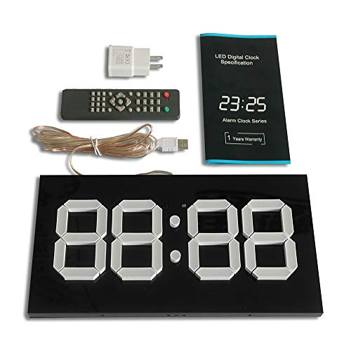 Despertador Digital Reloj Led De Pared De Conteo Regresivo/Progresivo
