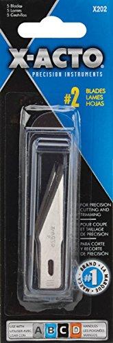 X ACTO X2025Pack Nr. 2Große Fine Point Klinge (Medium Point-messer)