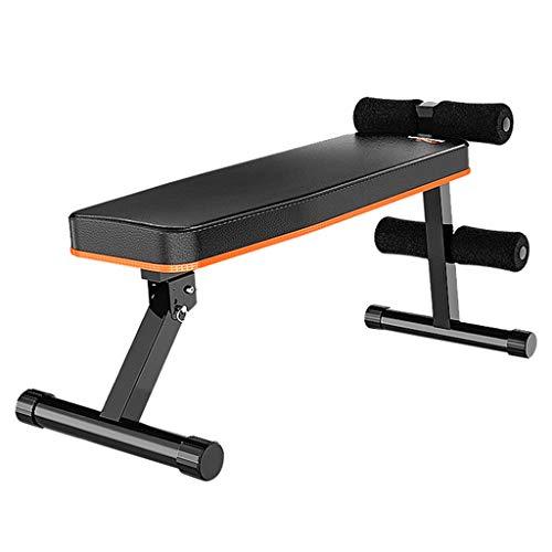 Sit-up board Peaceip Panca Multifunzionale con manubri Piccoli, Attrezzature da Palestra Pieghevoli per la casa, Design ergonomico, Oltre 180 ° Stretching, Rotazione a 360 °