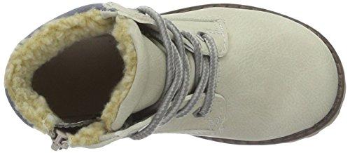 Supremo 1660101, Bottes courtes avec doublure chaude fille Blanc - Blanc (Ice)