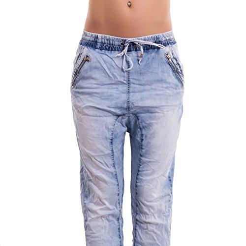 Toocool Damen Jeanshose jeans chiaro