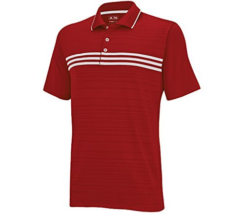 Climacool Mesh-golf-polo-shirt (adidas Men's Puremotion Climacool 3-Stripes Chest Polo)