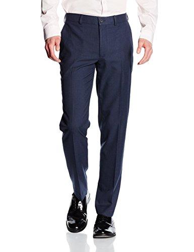 New Look Men's Basic Slim Suit Trousers