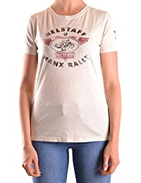 Belstaff Mujer MCBI039012O Beige Algodon T-Shirt