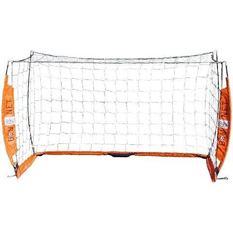 Bow Net, Rete da calcio portatile, Arancione (Orange - orange), 121,92 x 243,84 cm (4 x 8 piedi)