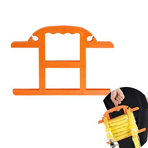 kitchen-dream Gartenschlauchhalter, Schlauchaufbewahrung mit bis zu 40 m Fassungsvermögen für 13,5 mm Wasserband Tragbarer freistehender Schlauchhalter mit Griff