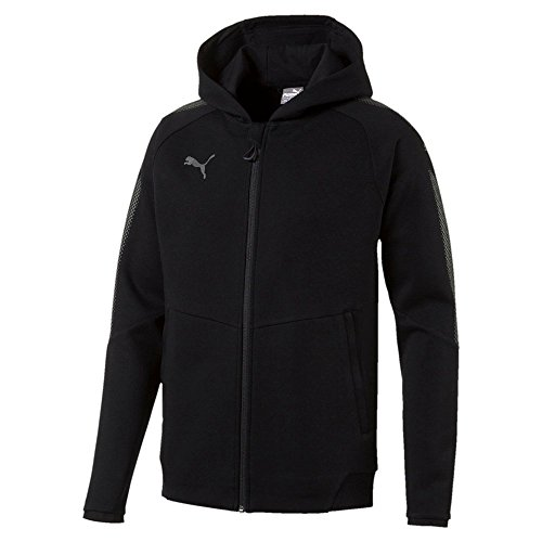 Puma Herren Ascension Casuals Hoody Sweatshirt, Black, S - Jacke Winter Puma Herren