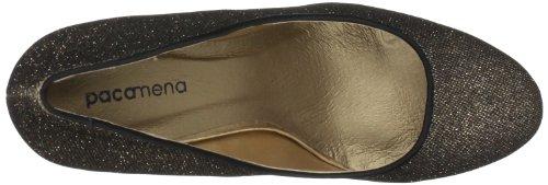 Paco Mena Loisach 5059, Scarpe col tacco donna Oro (Gold (Stone/Gold 87))